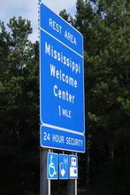 Entering Mississippi.